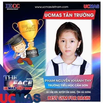 Thí sinh Phạm Nguyễn Khánh Thy - Trường Tiểu học Cẩm Sơn - UCMAS Tân Trường