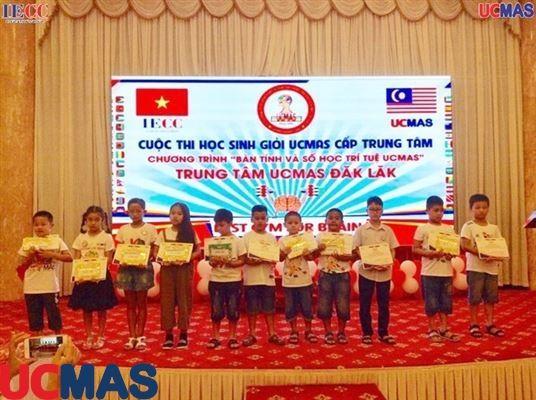 Cuộc thi Học Sinh Giỏi UCMAS Trung Tâm Đaklak ngày 07/06/2019