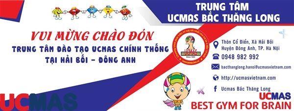 Tin vui tháng 9! Chào mừng trung tâm mới gia nhập hệ thống: UCMAS Bắc Thăng Long
