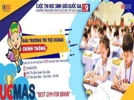 Thông báo cuộc thi học sinh giỏi UCMAS quốc gia lần thứ 9