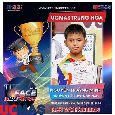 Nguyễn Hoàng Minh - Trường Tiểu học Ngôi Sao - UCMAS Trung Hòa