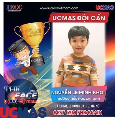 Nguyễn Lê Minh Khôi - Trường Tiểu học Cát Linh - UCMAS Đội Cấn