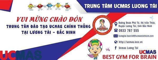 Tin vui tháng 6! Chào mừng trung tâm mới gia nhập hệ thống: UCMAS Lương Tài - Bắc Ninh