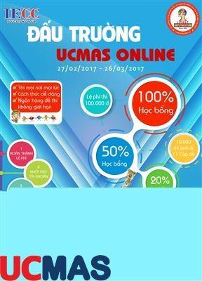 Cuộc thi đấu trường UCMAS ONLINE lần thứ 3 – 2017