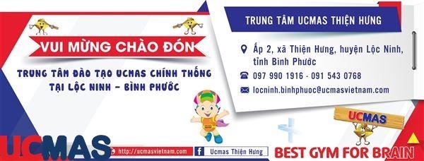 Tin vui tháng 04! Chào mừng trung tâm mới gia nhập hệ thống: UCMAS Thiện Hưng - Bình Phước