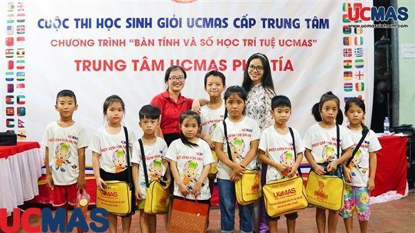 Cuộc thi HSG Trung Tâm UCMAS Phố Tía ngày 05/07/2019