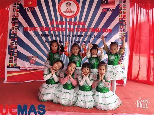 Khai trương UCMAS Thị Trấn Triệu Sơn - Thanh Hóa ngày 20/01/2019