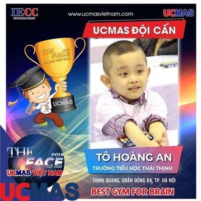 Tô Hoàng An - Trường Tiểu học Thái Thịnh - UCMAS Đội Cấn