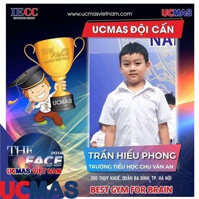 Trần Hiểu Phong - Trường Tiểu học Chu Văn An - UCMAS Đội Cấn