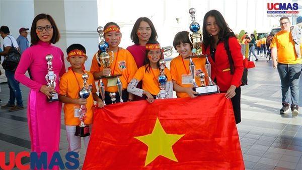 Đoàn Ucmas Việt Nam với chiến thắng lớn tại Đấu trường Siêu Trí Tuệ Quốc Tế 2019