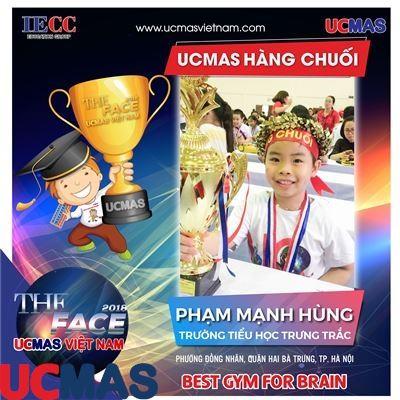 Thí sinh Phạm Mạnh Hùng - Trường Tiểu học Trưng Trắc - UCMAS Hàng chuối