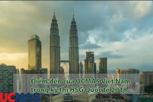 1 số điểm đến của đoàn thi Học sinh giỏi Quốc tế UCMAS 2018