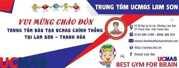 Tin vui tháng 4! Chào mừng trung tâm mới gia nhập hệ thống: UCMAS Lam Sơn - Thanh Hóa