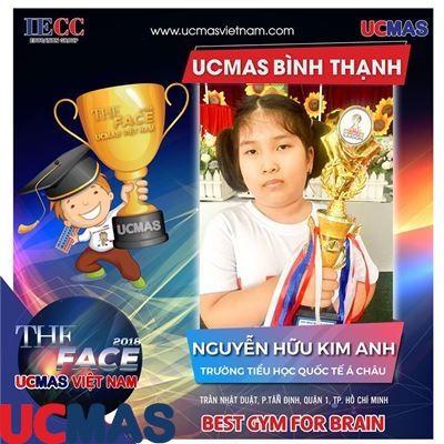 Nguyễn Hữu Kim Anh - Trường Tiểu học Quốc tế Á Châu - UCMAS Bình Thạnh