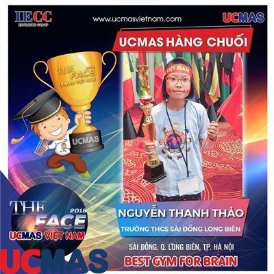 Nguyễn Thanh Thảo - Trường THCS Sài Đồng - UCMAS Hàng Chuối