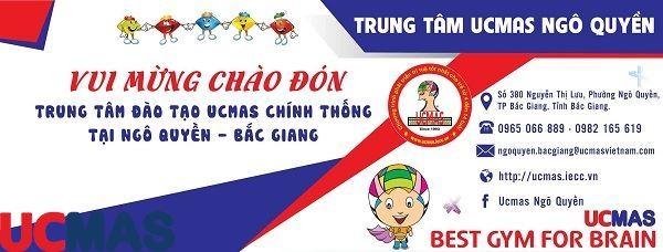 Tin vui tháng 5! Chào mừng trung tâm mới gia nhập hệ thống: UCMAS Ngô Quyền - Bắc Giang