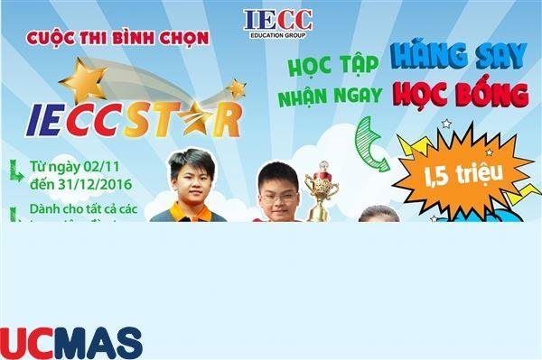 Siêu hâp dẫn - IECC STAR học tập hăng say - nhận ngay học bổng