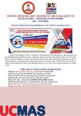 Chương trình tour Malaysia + Singapore 6 ngày