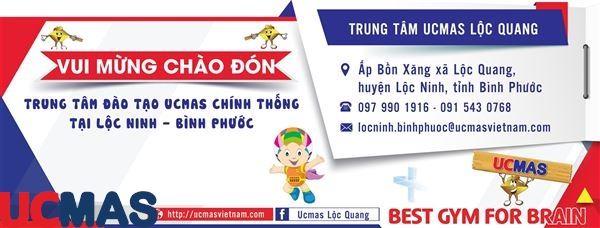 Tin vui tháng 04! Chào mừng trung tâm mới gia nhập hệ thống: UCMAS Lộc Quang - Bình Phước