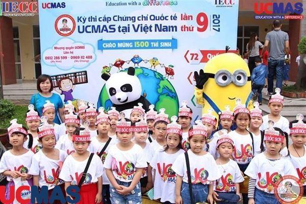 UCMAS Sóc Sơn - Một trong những lá cờ đầu của hệ thống UCMAS Việt Nam