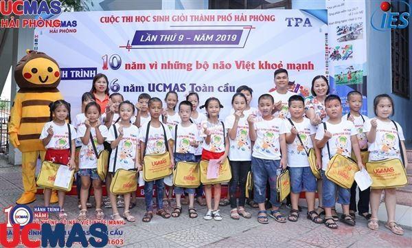 Cuộc thi HSG UCMAS Thành Phố Hải Phòng ngày 07/07/2019