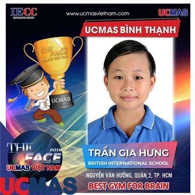 Trần Gia Hưng - British International School - UCMAS Bình Thạnh