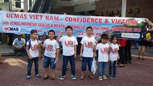 20.09.2015 Cuộc thi UCMAS Quốc tế tại đảo Bali - Indonesia