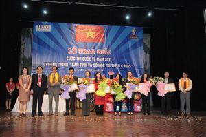 07.04.2012 - Lễ vinh danh và trao giải kỳ thi HSG Quốc tế UCMAS lần thứ 17