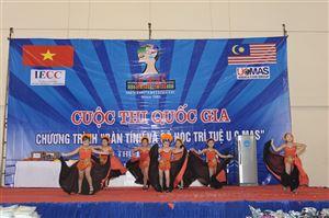 06.08.2011 - Kỳ thi HSG Quốc gia UCMAS lần 2