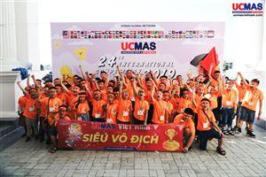 CUỘC THI HSG UCMAS QUỐC TẾ lần thứ 24 tại PhnomPenh, Campuchia